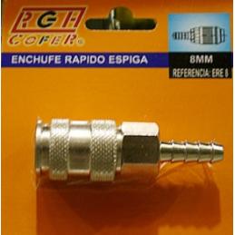 ENCHUFE NEUM RAP 8 MM RGH-8...